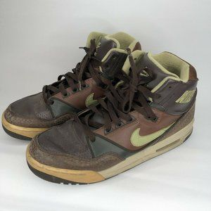 2007 NIKE AIR ASSAULT 9.5 SAFARI DARK CINDER PEA P